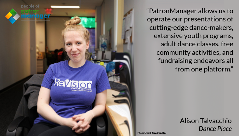 People of PatronManager - Alison Talvacchio