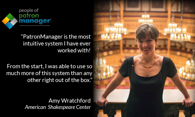 People of PatronManager - Amy Wratchford