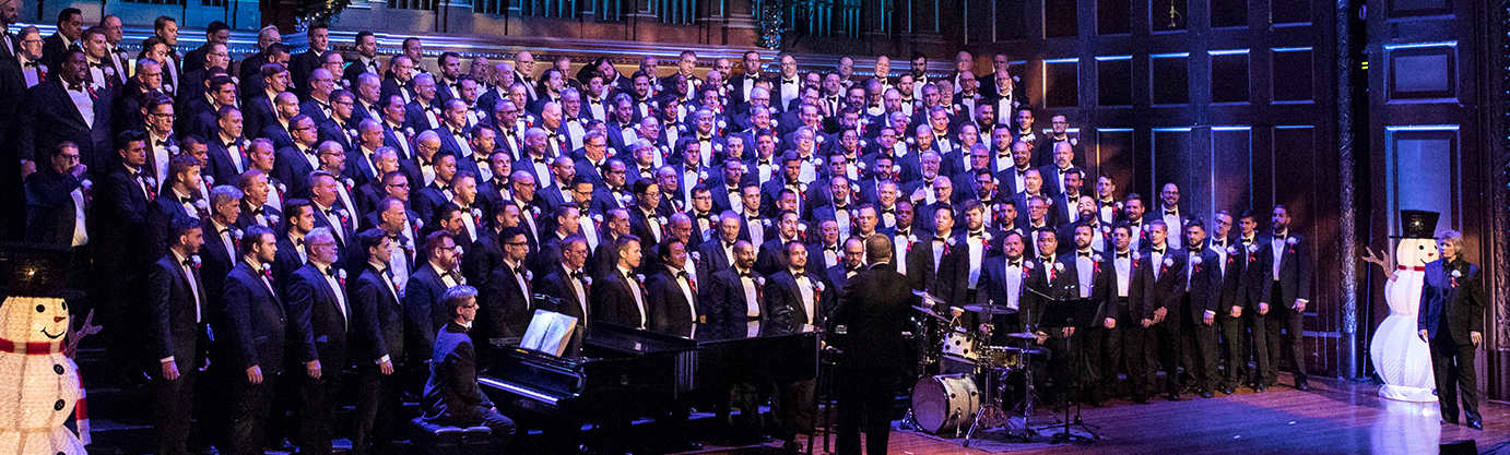 Boston Gay Men's Chorus sings their Christmas concert