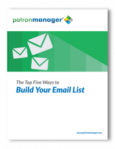 The Top Five Ways to Build Your Email List
