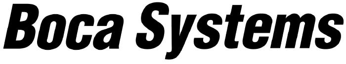 Boca Systems